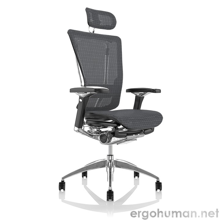 Nefil Grey Mesh Office Chair