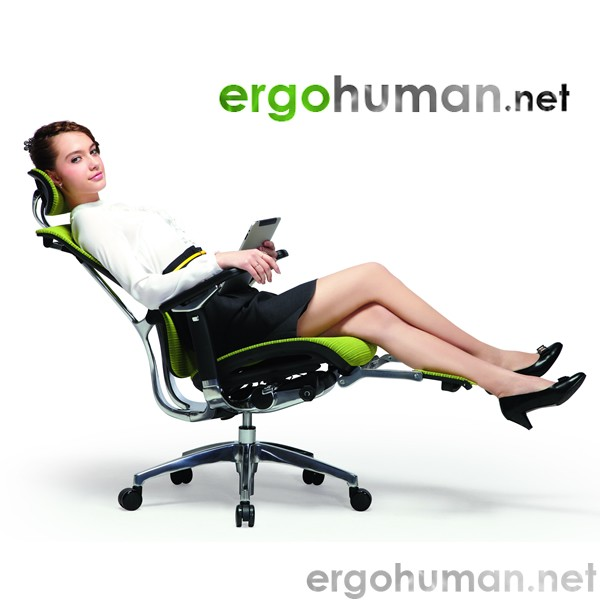 Nefil Mesh Office Chair with Leg Rest